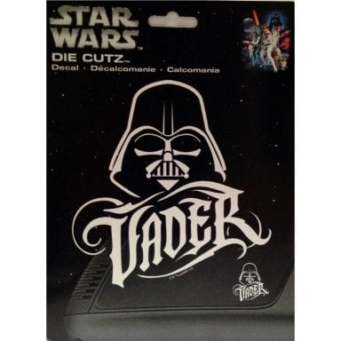 Star Wars Merchandise - Darth Vader Decal