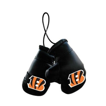 Cincinnati Bengals Mini Boxing Gloves