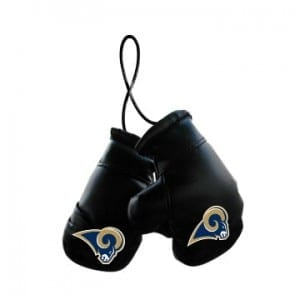 Los Angeles Rams Mini Boxing Gloves