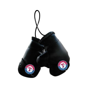 Texas Rangers Mini Boxing Gloves