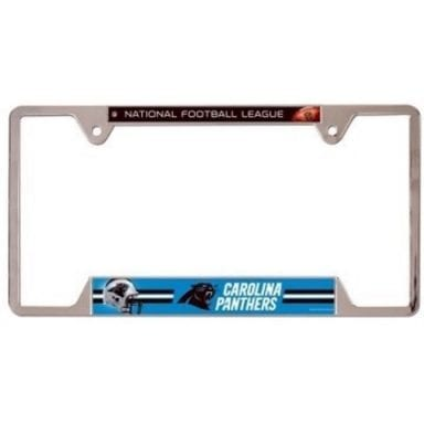 Carolina Panthers Merchandise - License Plate Frame