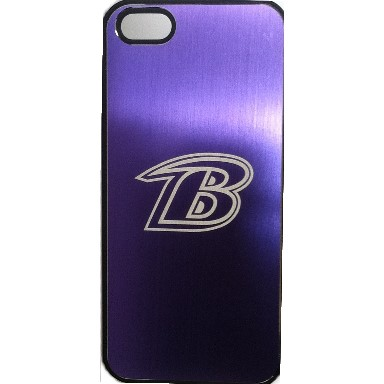 Baltimore Ravens Etched Phone Case
