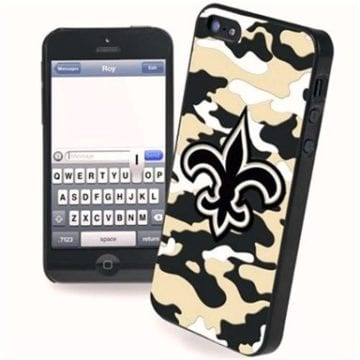 New Orleans Saints Merchandise - Camo Phone Case