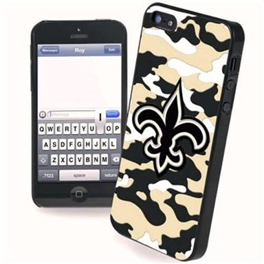 New Orleans Saints Camo Phone Case