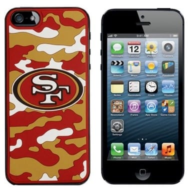 San Francisco 49ers Merchandise - Camo Phone Case