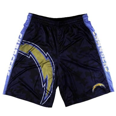 Los Angeles Chargers Merchandise - Polyester Shorts