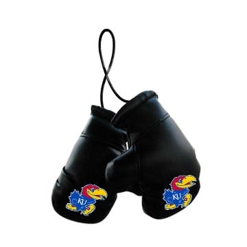 Kansas Jayhawks Merchandise - Mini Boxing Gloves