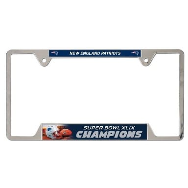 New England Patriots License Plate Frame
