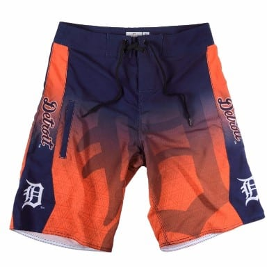 Detroit Tigers Merchandise Board Shorts