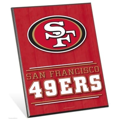 San Francisco 49ers Merchandise - Easel Sign
