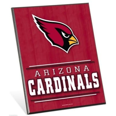 Arizona Cardinals Easel Sign