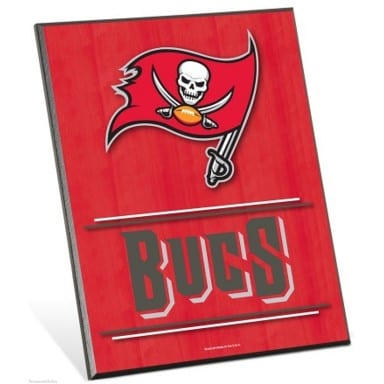 Tampa Bay Buccaneers Easel Sign