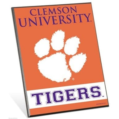 Clemson Tigers Merchandise - Easel Sign