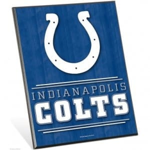 Indianapolis Colts Easel Sign