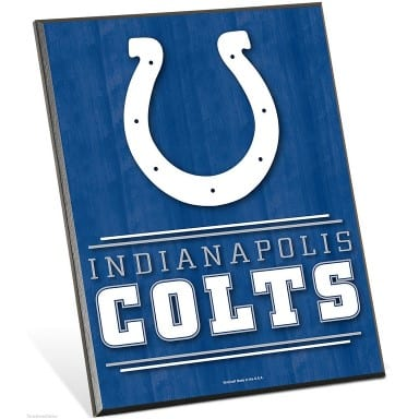 Indianapolis Colts Merchandise - Easel Sign