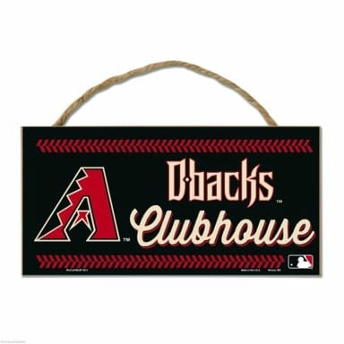 Arizona Diamondbacks Merchandise - Rope Sign