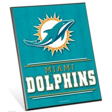 Miami Dolphins Merchandise - Easel Sign