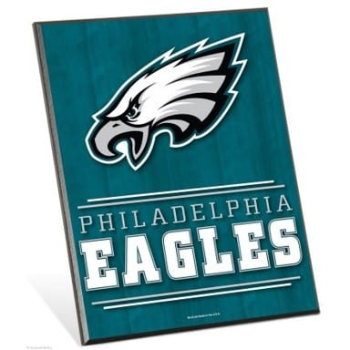 Philadelphia Eagles Easel Sign