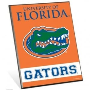 Florida Gators Easel Sign