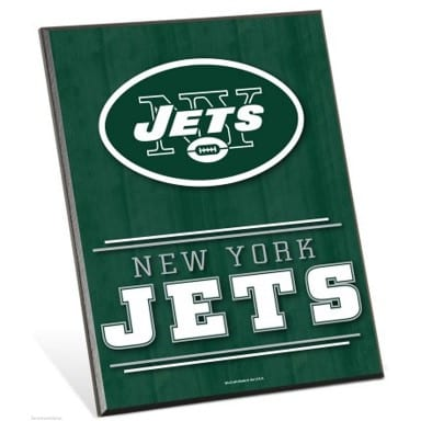 New York Jets Easel Sign