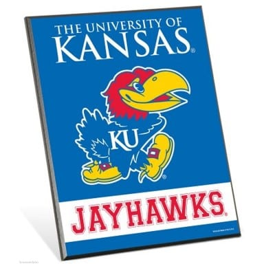Kansas Jayhawks Merchandise - Easel Sign