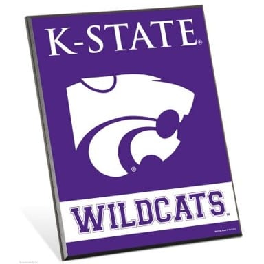 Kansas State Wildcats Easel Sign