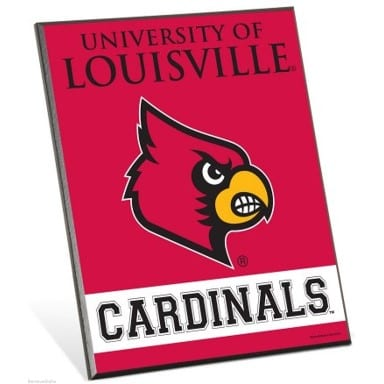 Louisville Cardinals Merchandise - Easel Sign