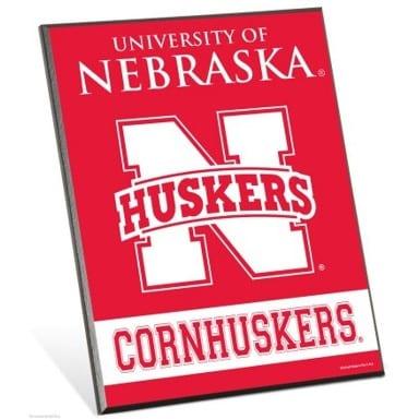 Nebraska Cornhuskers Easel Sign