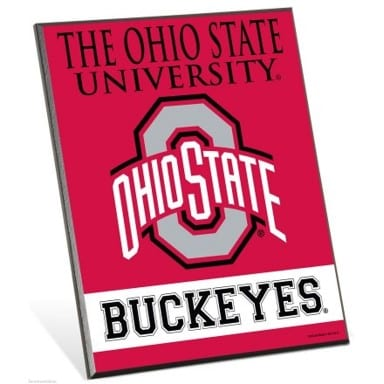 Ohio State Buckeyes Merchandise - Easel Sign