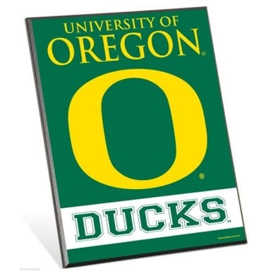 Oregon Ducks Easel Sign