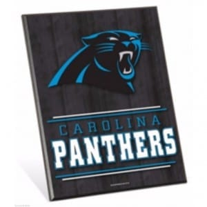 Carolina Panthers Easel Sign