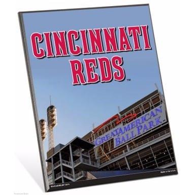 Cincinnati Reds Easel Sign