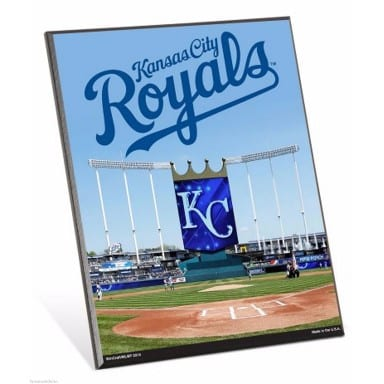 Kansas City Royals Merchandise - Easel Sign