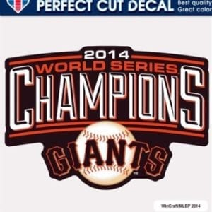 San Francisco Giants Merchandise - 8 x 8 Decal