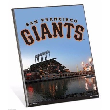 San Francisco Giants Merchandise - Easel Sign