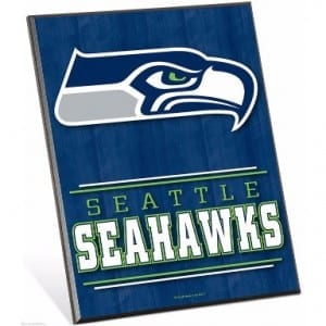 Seattle Seahawks Easel Sign