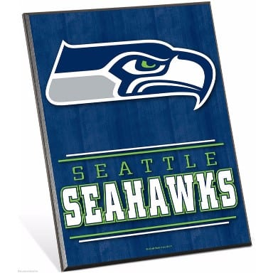 Seattle Seahawks Merchandise - Easel Sign