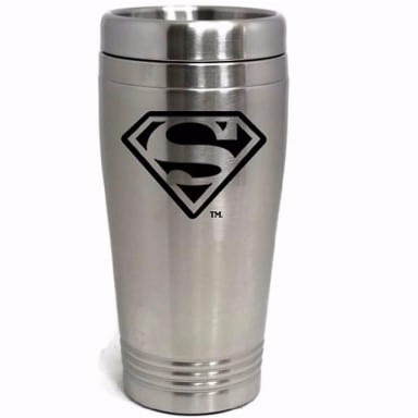 Superman Merchandise - Stainless Travel Mug