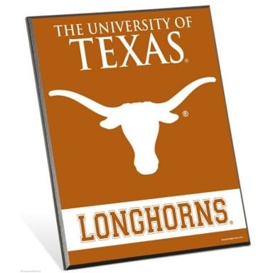 Texas Longhorns Merchandise - Easel Sign