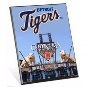 Detroit Tigers Easel Sign