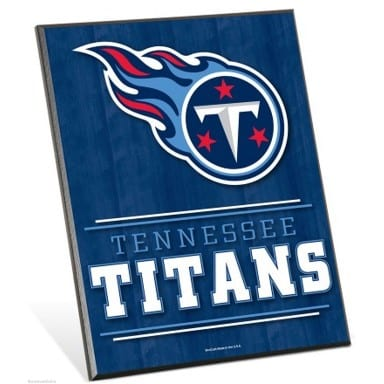 Tennessee Titans Easel Sign