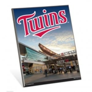 Minnesota Twins Easel Sign
