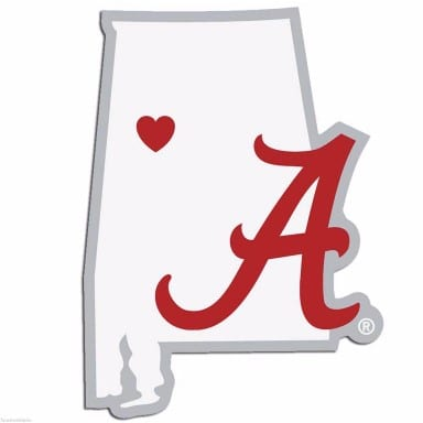 Alabama Crimson Tide Merchandise - Decal