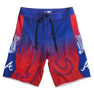 Atlanta Braves Board Shorts