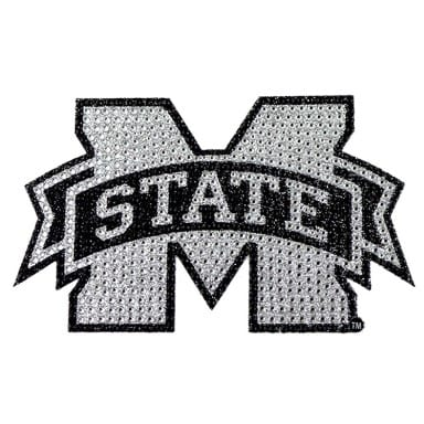 Mississippi State Bulldogs Bling Decal