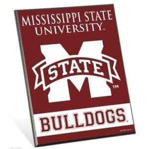 Mississippi State Bulldogs Easel Sign