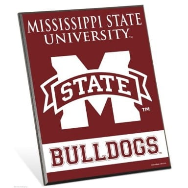 Mississippi State Bulldogs Merchandise - Easel Sign