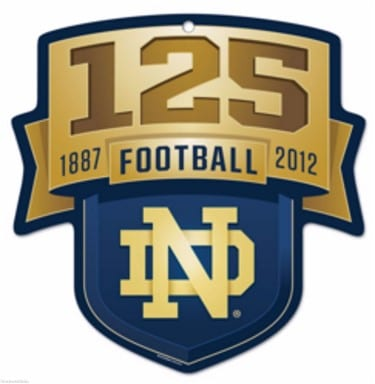 Notre Dame Fighting Irish Club Sign