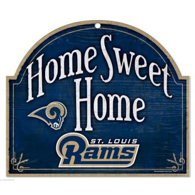 St Louis Rams Merchandise - Arched Sign