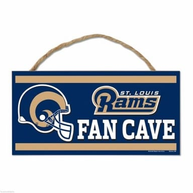 St Louis Rams Rope Sign